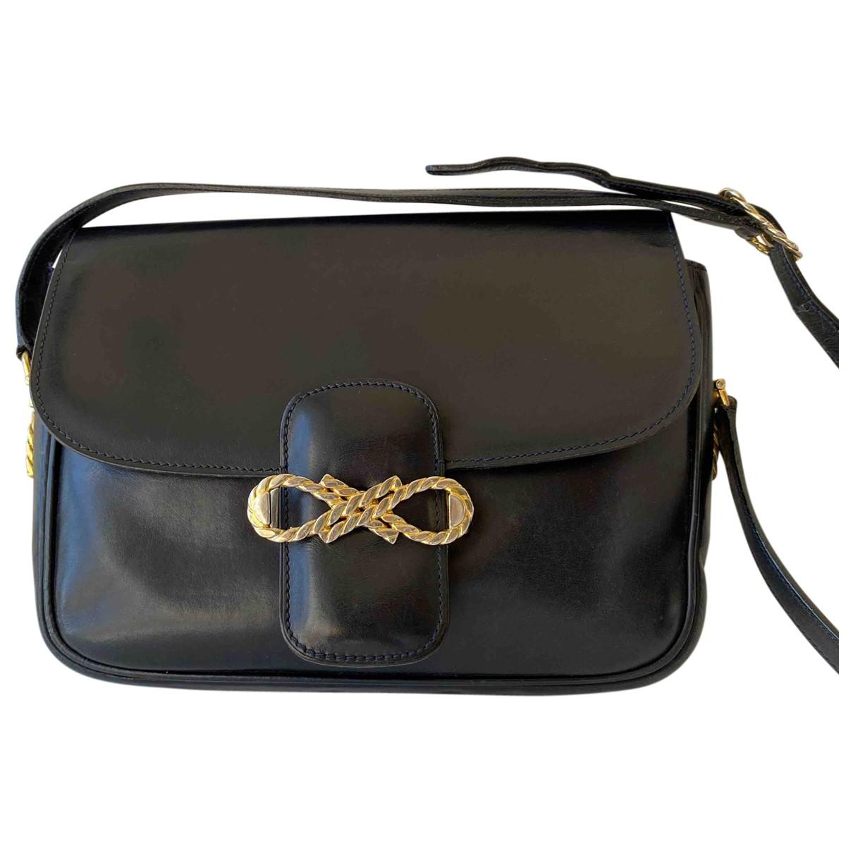 Celine N Navy Leather handbag for Women N