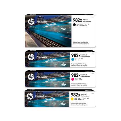 HP 982X T0B27A T0B28A T0B29A T0B30A cartouche dencre originale combo BK/C/M/Y haut capacité