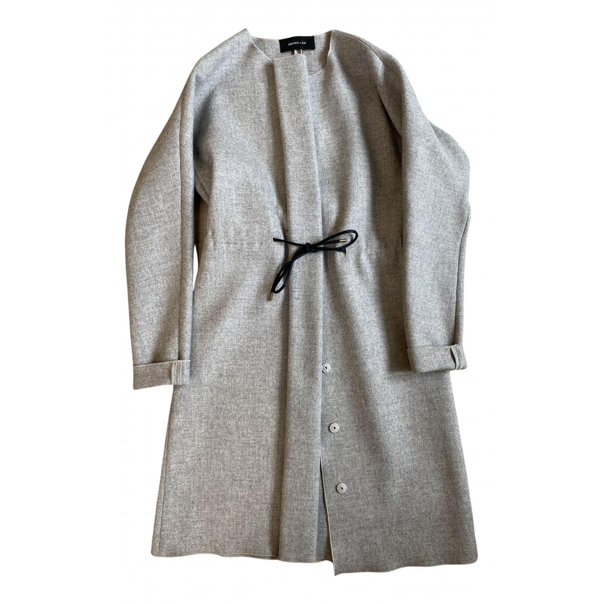 Derek Lam \N Maentel in  Grau Wolle
