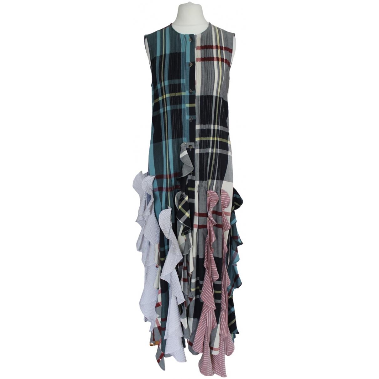J.w. Anderson \N Multicolour Cotton dress for Women 8 UK