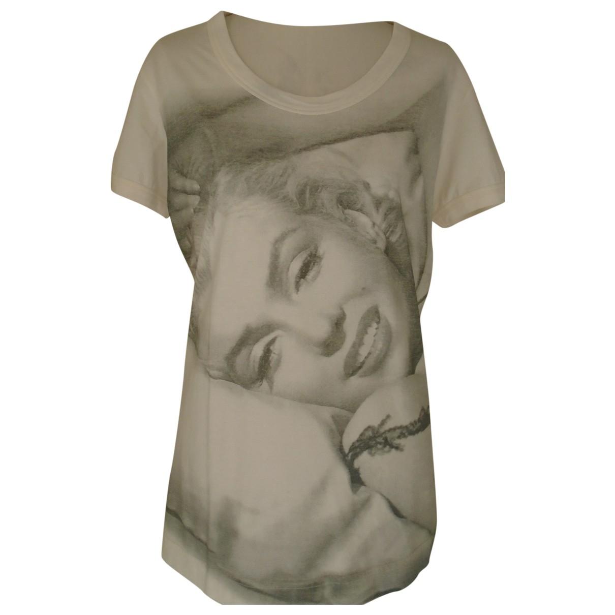 Dolce & Gabbana N Ecru Cotton  top for Women 46 IT