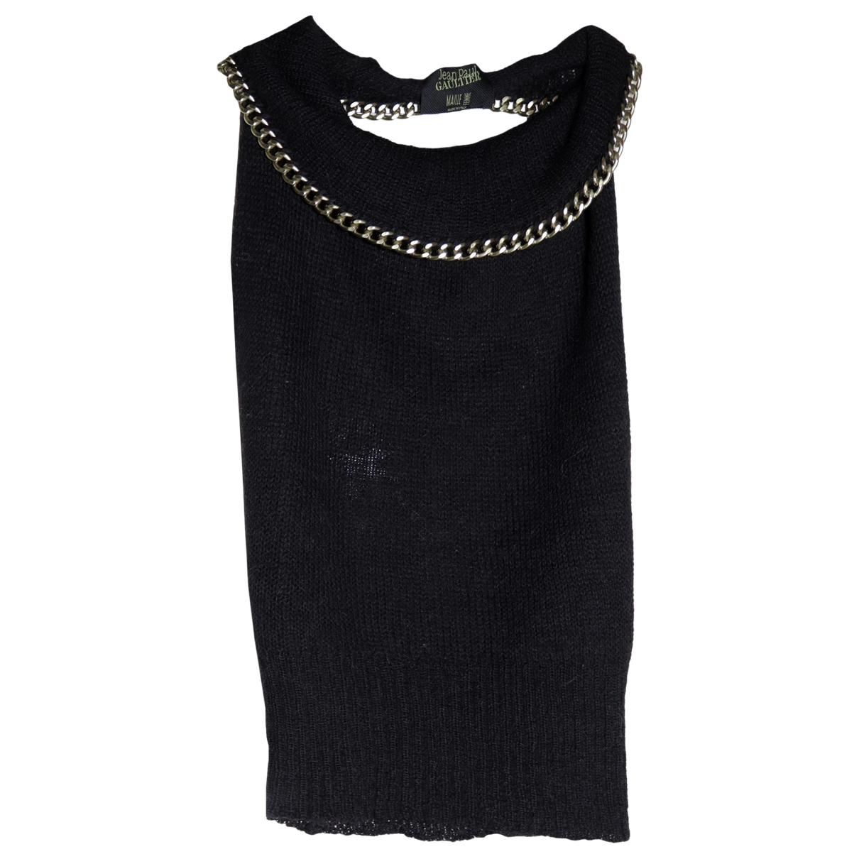 Jean Paul Gaultier \N Black Wool Knitwear for Women M International