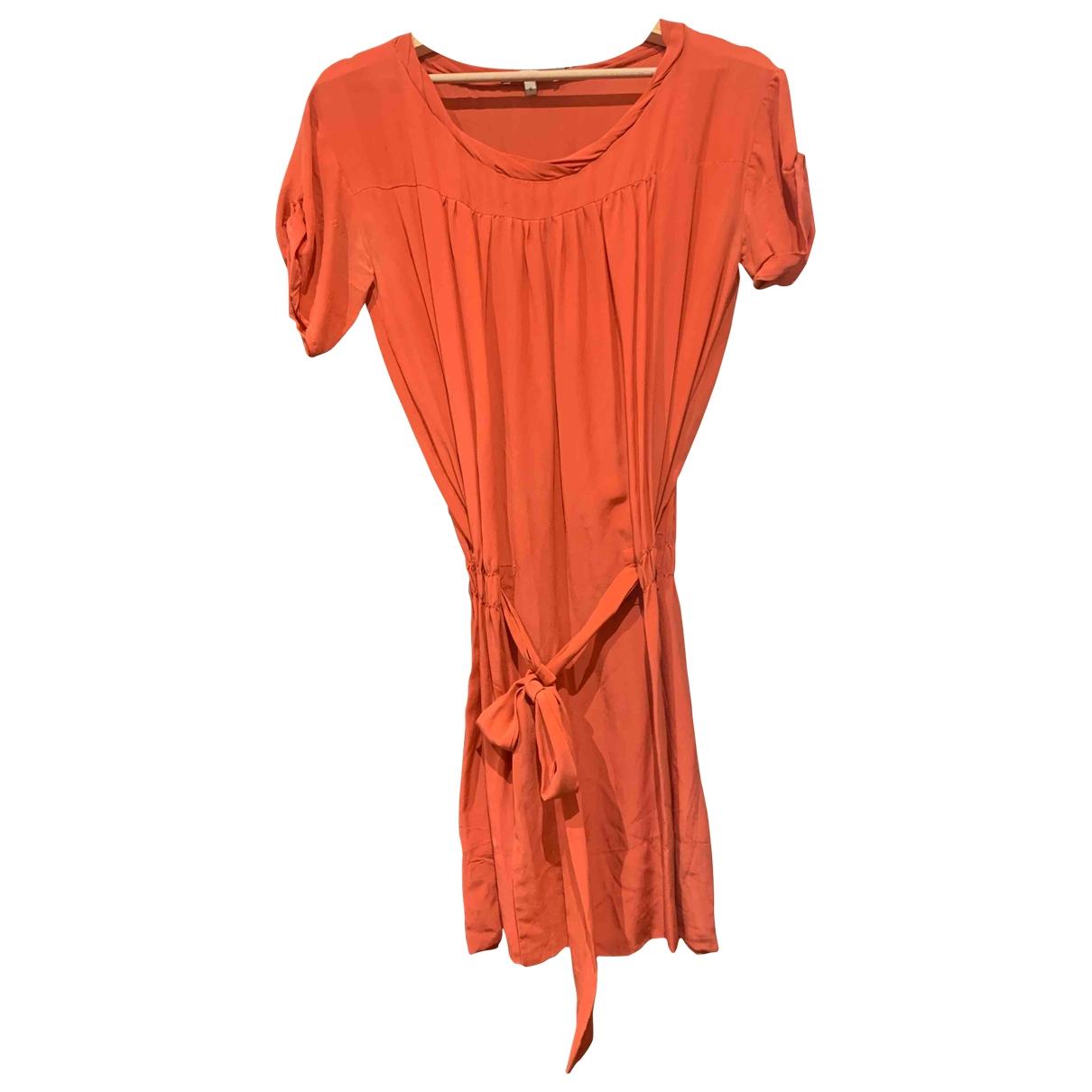 Vestido midi de Seda Maje