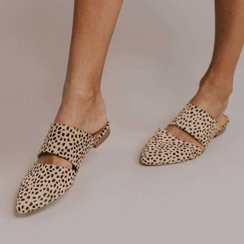 Ericdress Print Slip-On Closed Toe Rubber Slippers