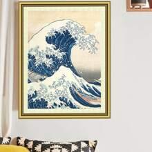 Sea Wave Pattern Diamond Painting