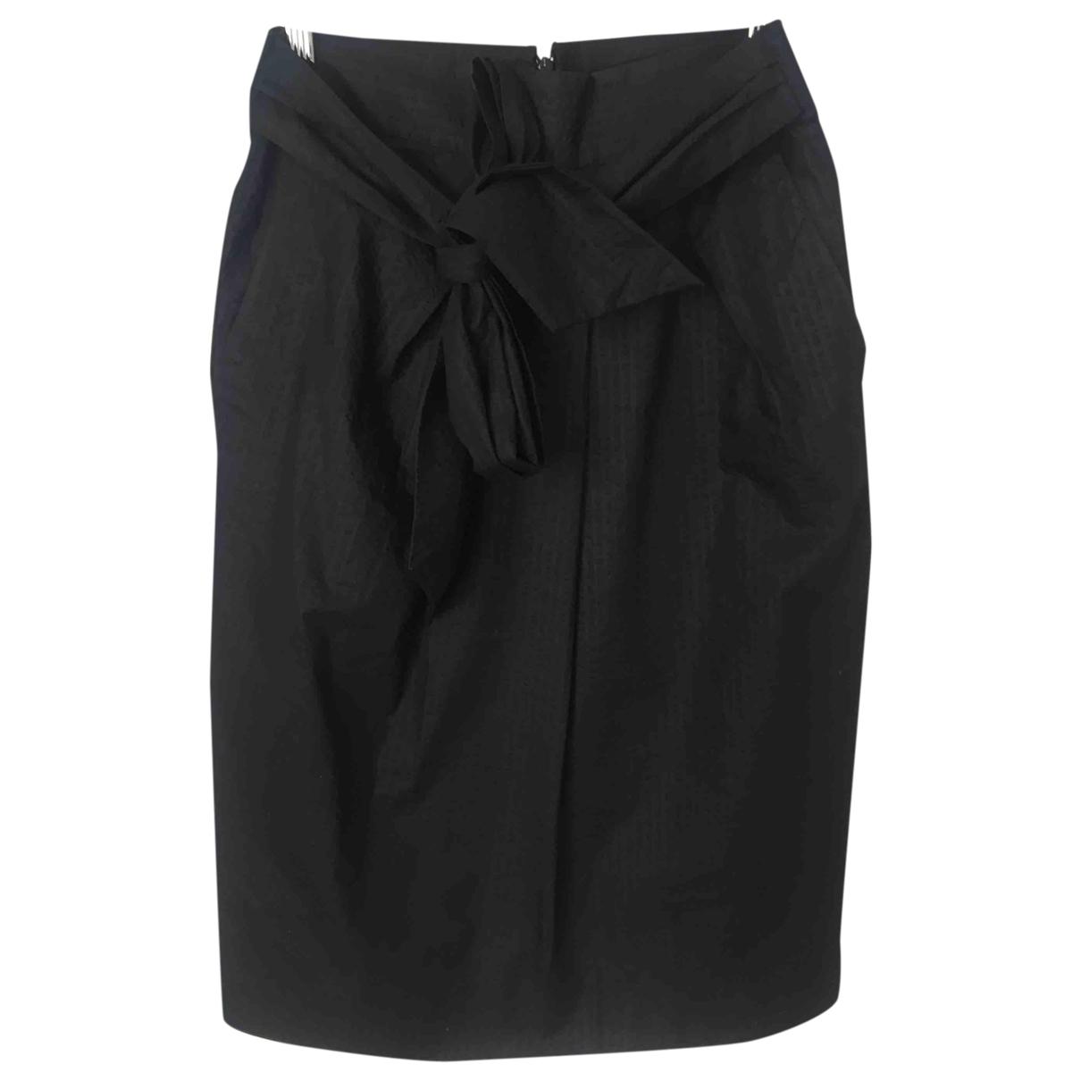 J.crew \N Black Cotton skirt for Women 6 US