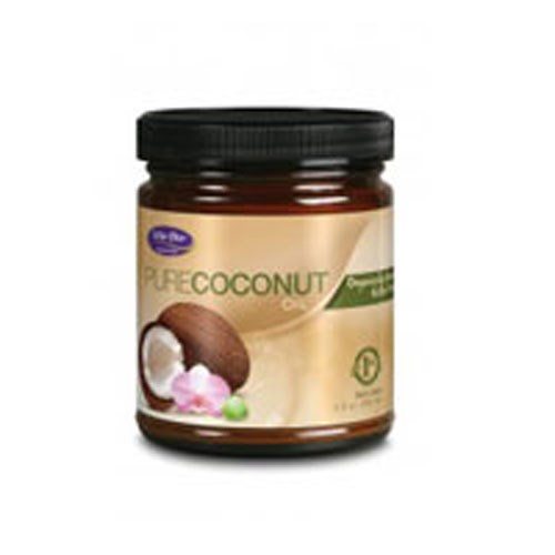 Pure Coconut Oil Organic Extra Virgin 9 oz by Life-Flo