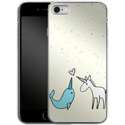 Apple iPhone 6 Silikon Handyhuelle - Two Horns von caseable Designs