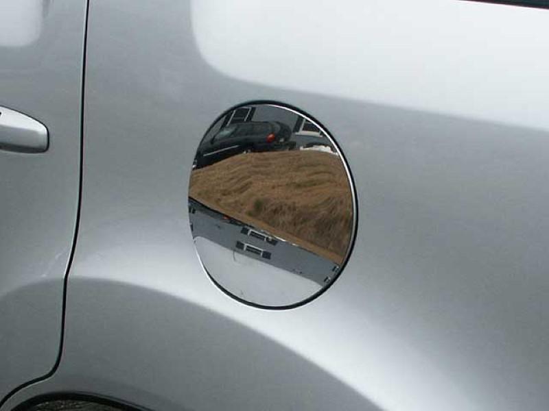 Quality Automotive Accessories 1 Piece Stainless Gas Door Cover Trim Honda Pilot  09-15