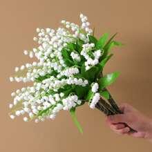 1 Zweig Kuenstliche Glockenorchidee