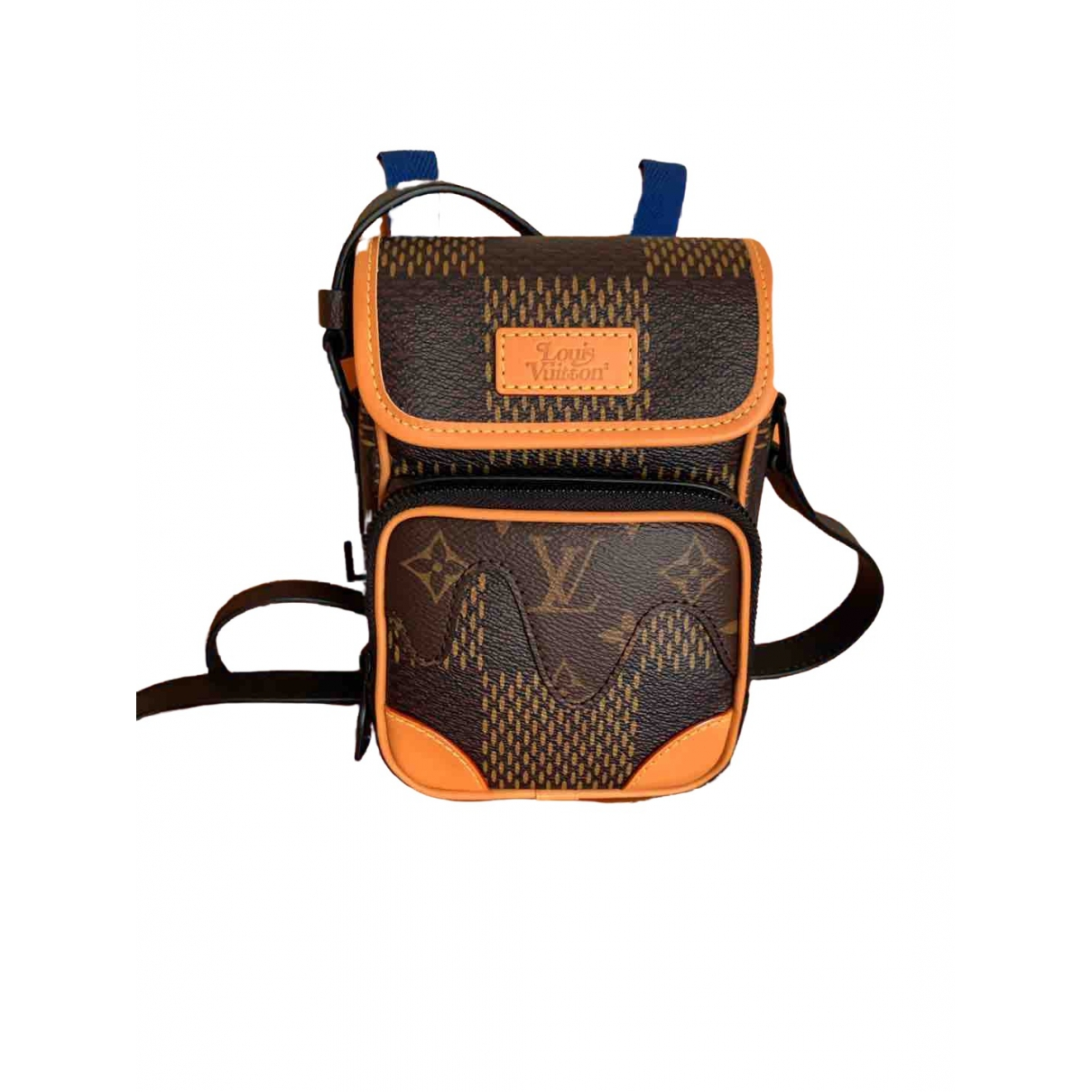 Louis Vuitton X Nigo \N Leather bag for Men \N
