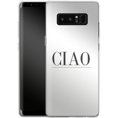 Samsung Galaxy Note 8 Silikon Handyhuelle - Just CIAO! von Erik Scholz