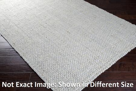 JS220-8106 8 x 106 Rectangular Reversible 100% Jute Rug with No Pile and Hand Woven in India in Light