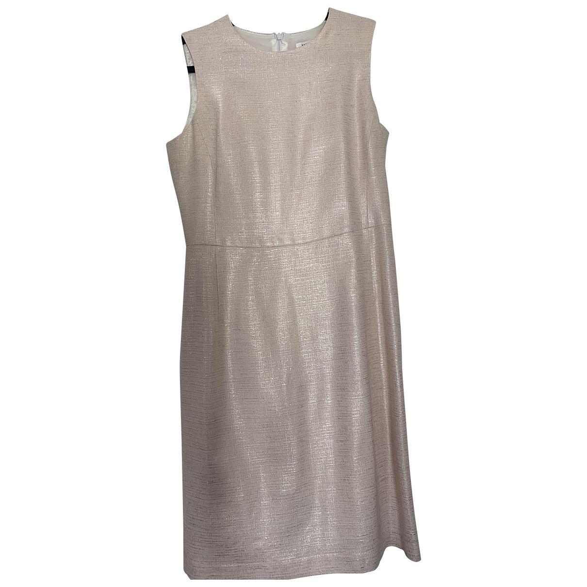 Barneys New York \N Kleid in  Rosa Seide