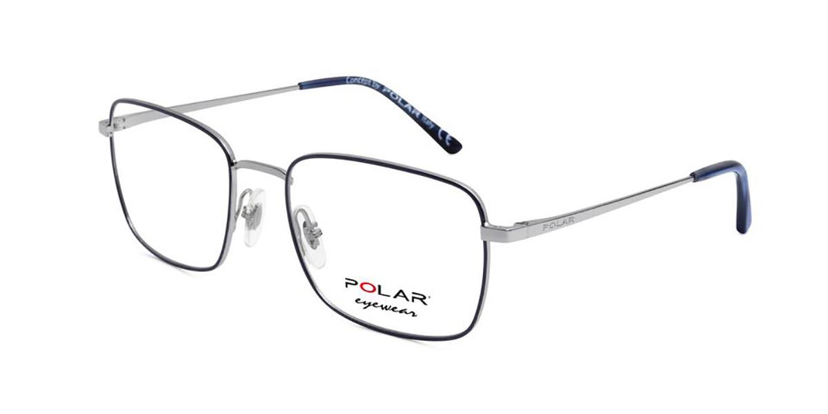 Polar PL 888 20 Men's Glasses Grey Size 55 - Free Lenses - HSA/FSA Insurance - Blue Light Block Available