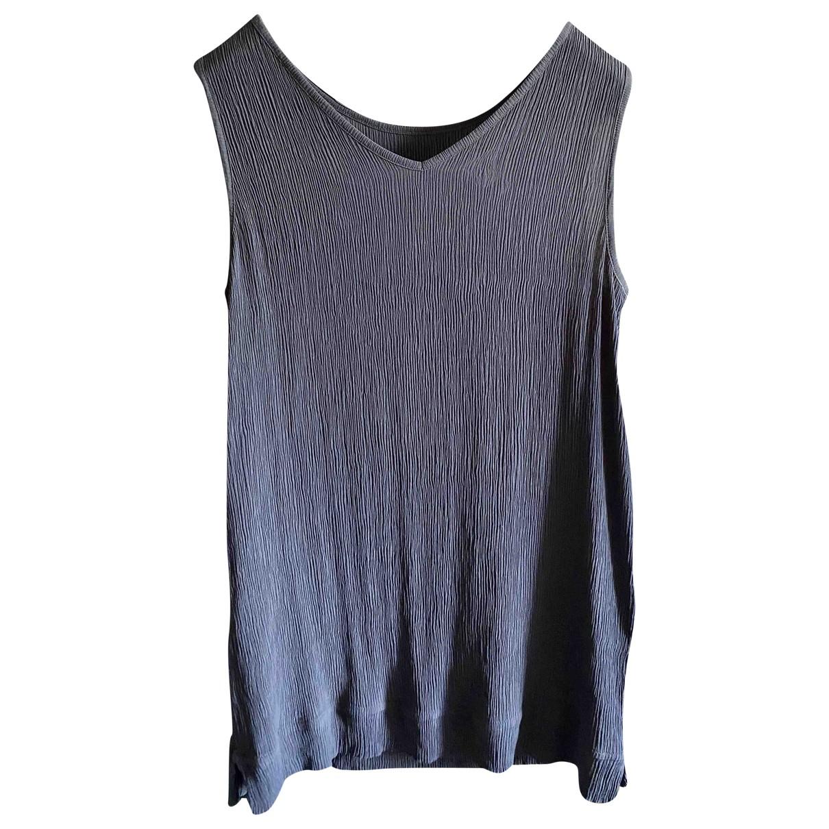 Fabiana Filippi \N Anthracite Silk  top for Women 40 IT