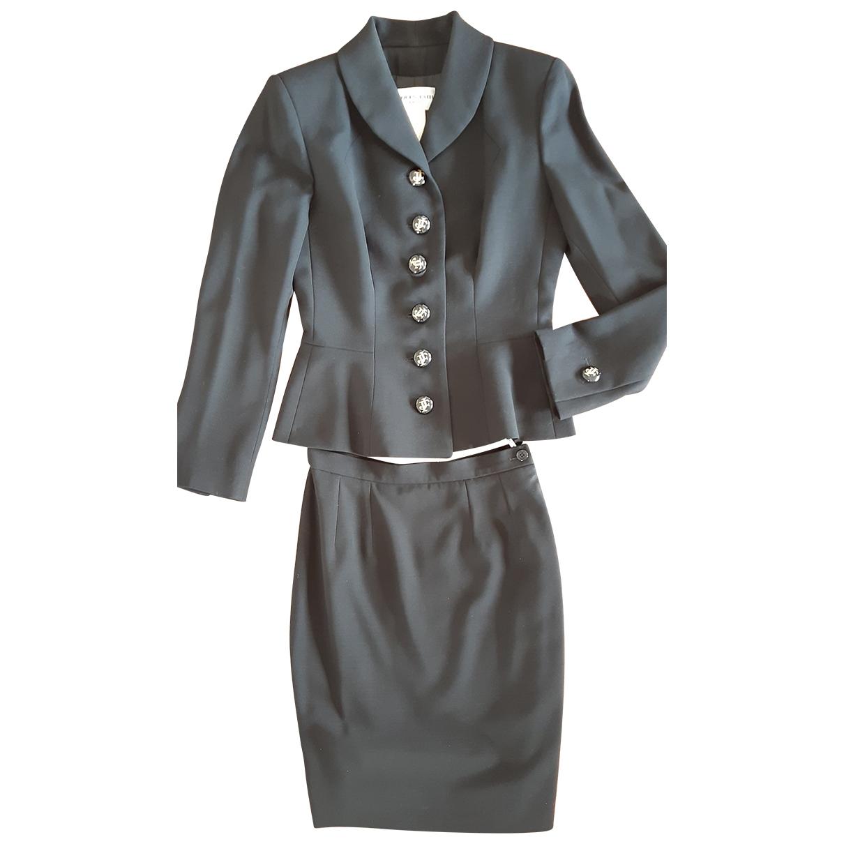 Jacques Fath - Veste   pour femme en laine - noir