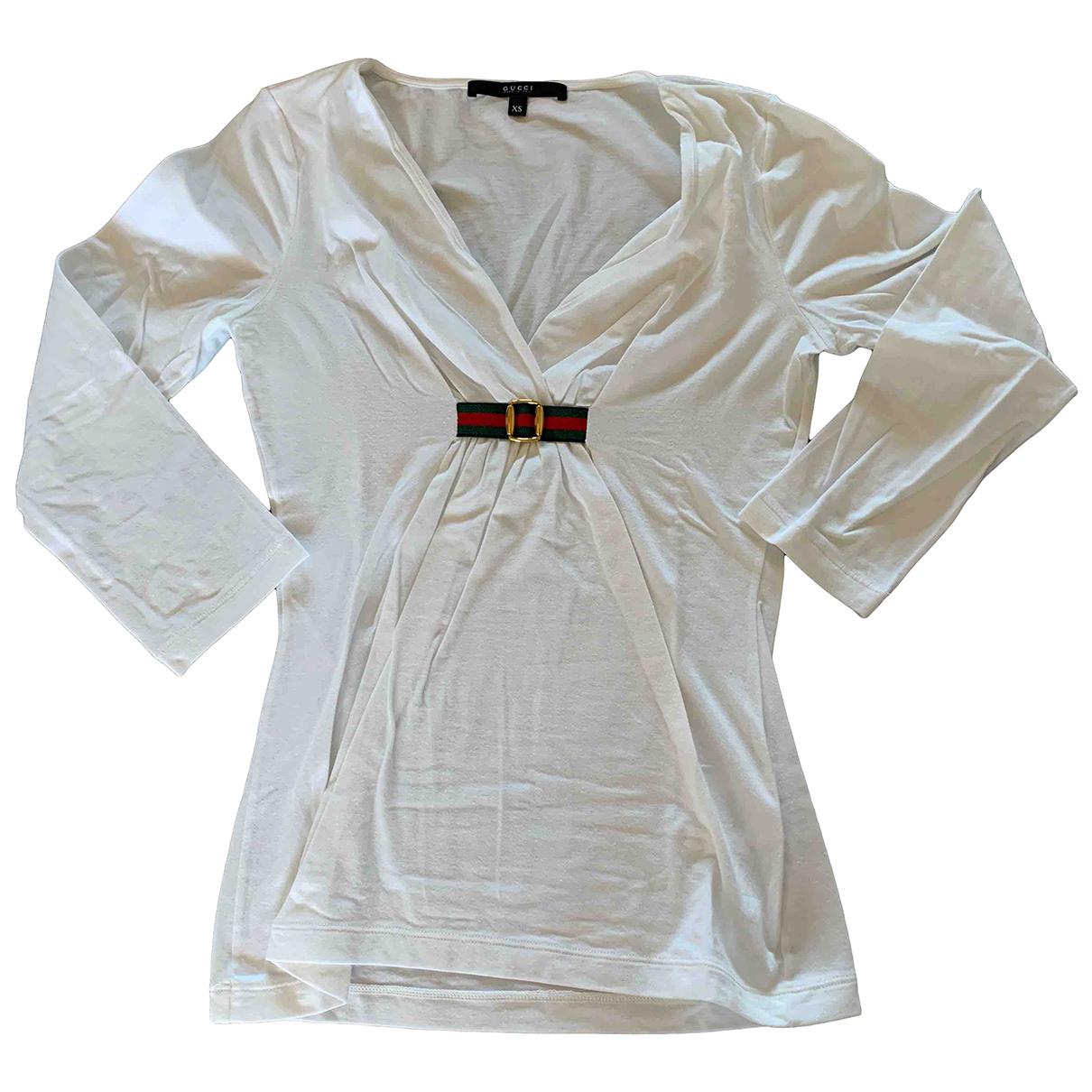 Gucci N White Cotton  top for Women XS International