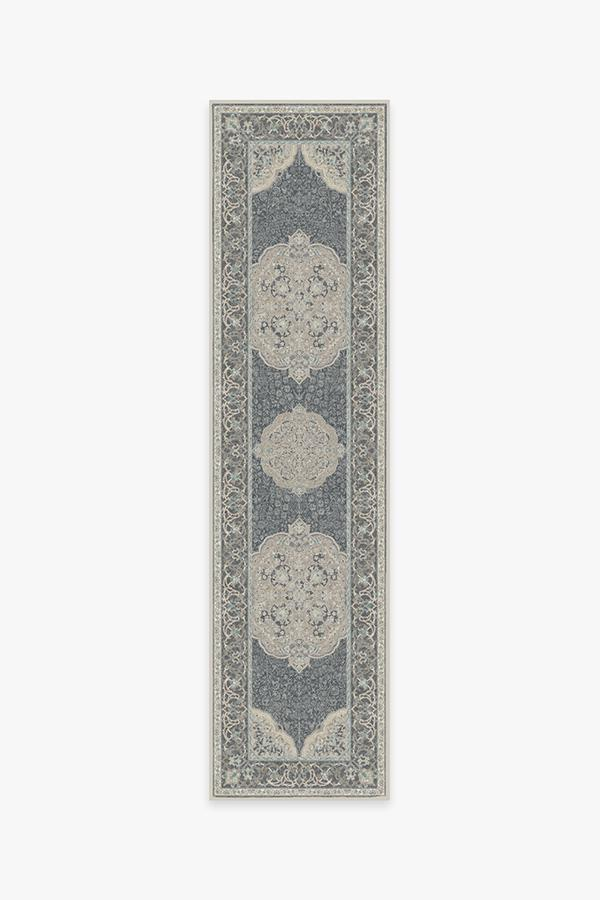 Washable Rug Cover & Pad | Mickey Persian Abalone Rug | Stain-Resistant | Ruggable | 2.5'x10'