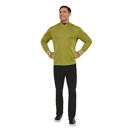 Star Trek Mens Captain Kirk Dress Up Costume Costume, X-large , Multiple Colors