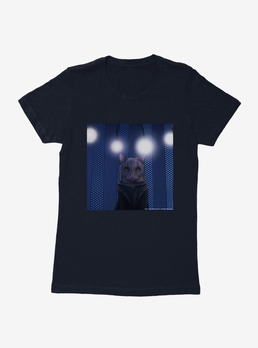 Star Trek The Next Generation Cats Spotlight Womens T-Shirt