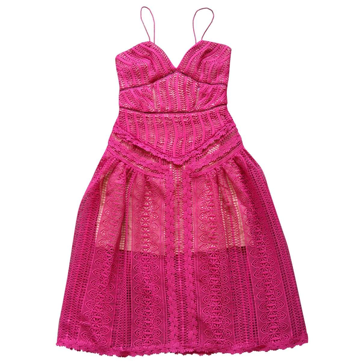Self Portrait \N Pink dress for Women 10 UK
