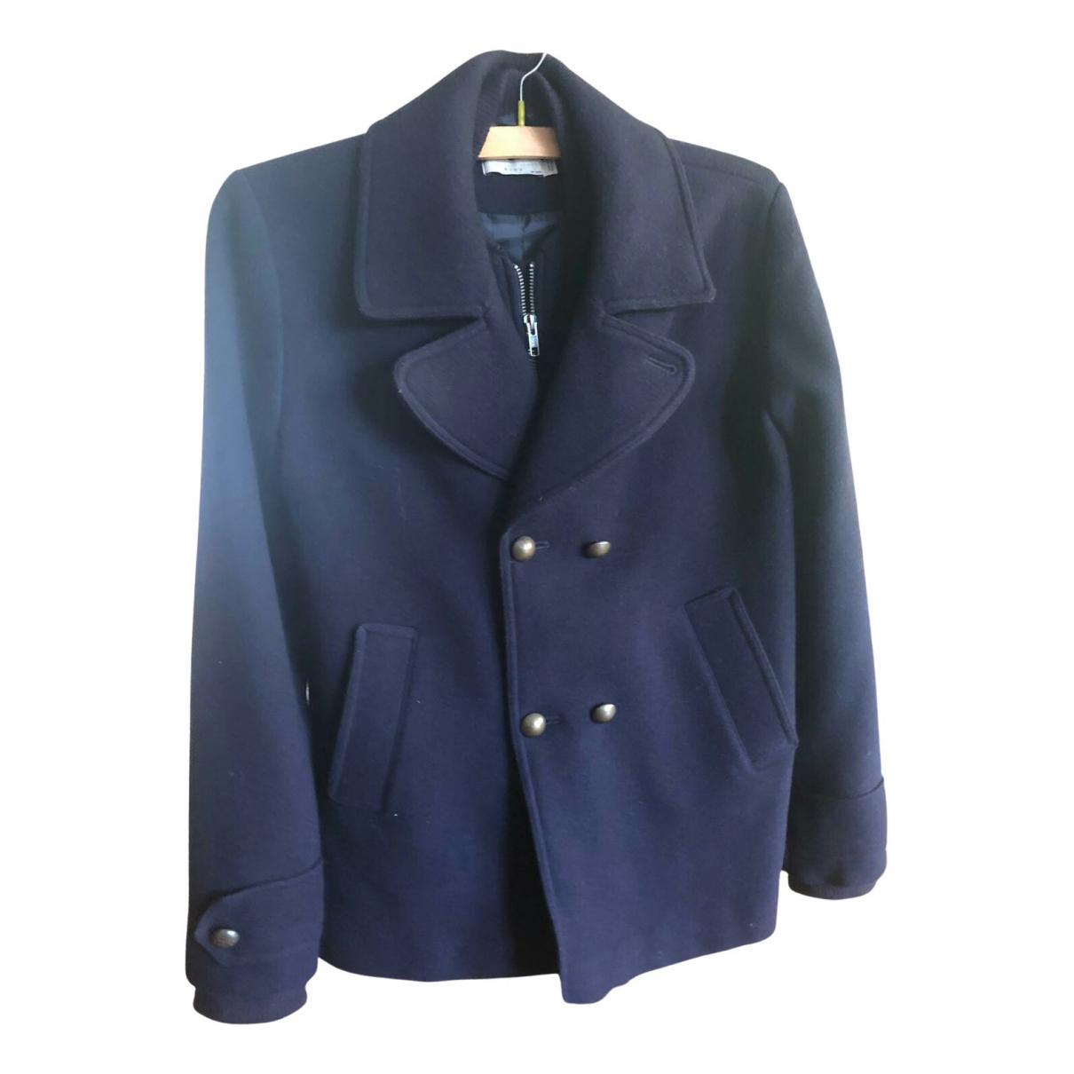 Stella Mccartney - Blousons.Manteaux   pour enfant en laine - bleu