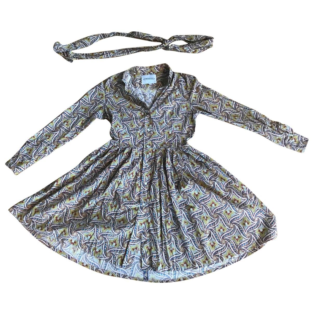 Thomsen \N Kleid in  Bunt Baumwolle