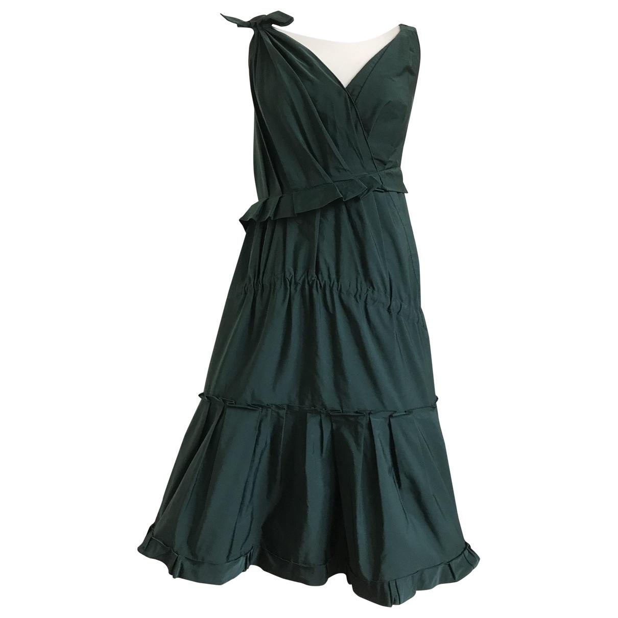 Nina Ricci \N Kleid in  Gruen Polyester
