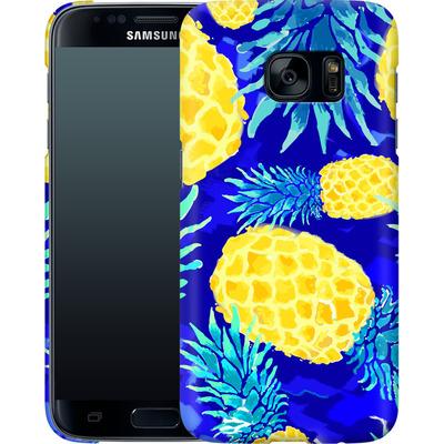 Samsung Galaxy S7 Smartphone Huelle - Pineapple Crush von Mukta Lata Barua