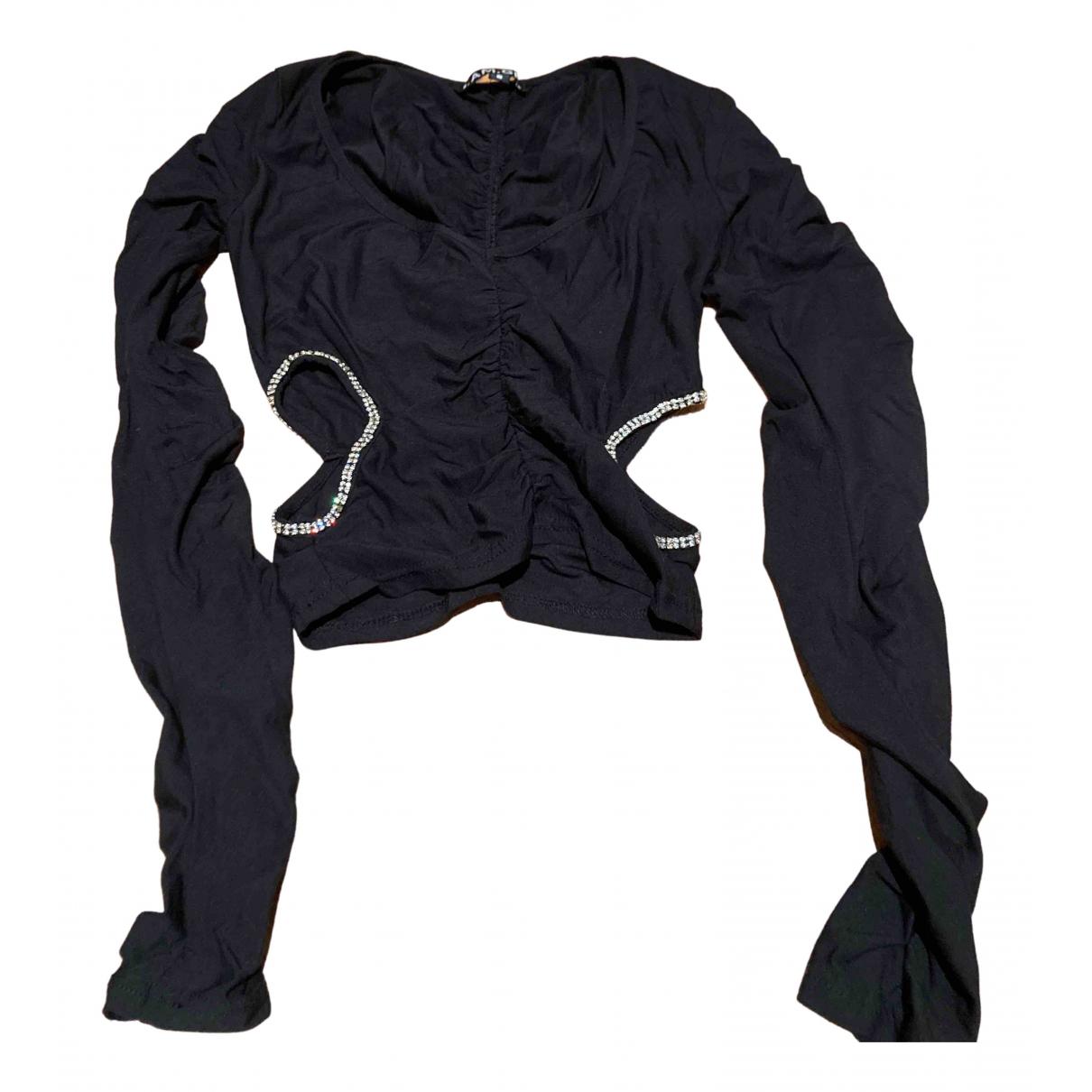 I.am.gia - Top   pour femme en coton - noir