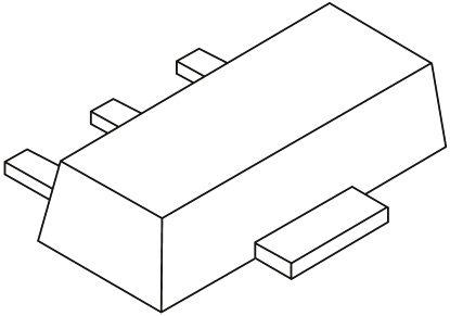 Nexperia , 5.1V Zener Diode 5% 1 W SMT 3-Pin SOT-89 (10)