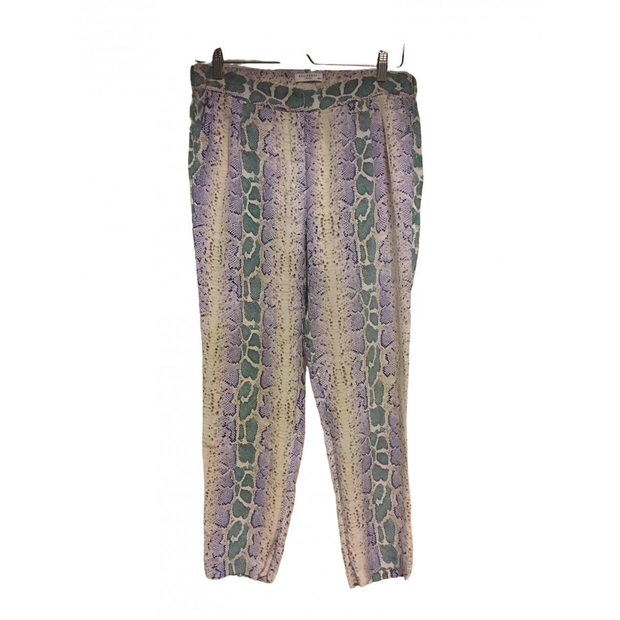 Pantalon de traje de Seda Equipment