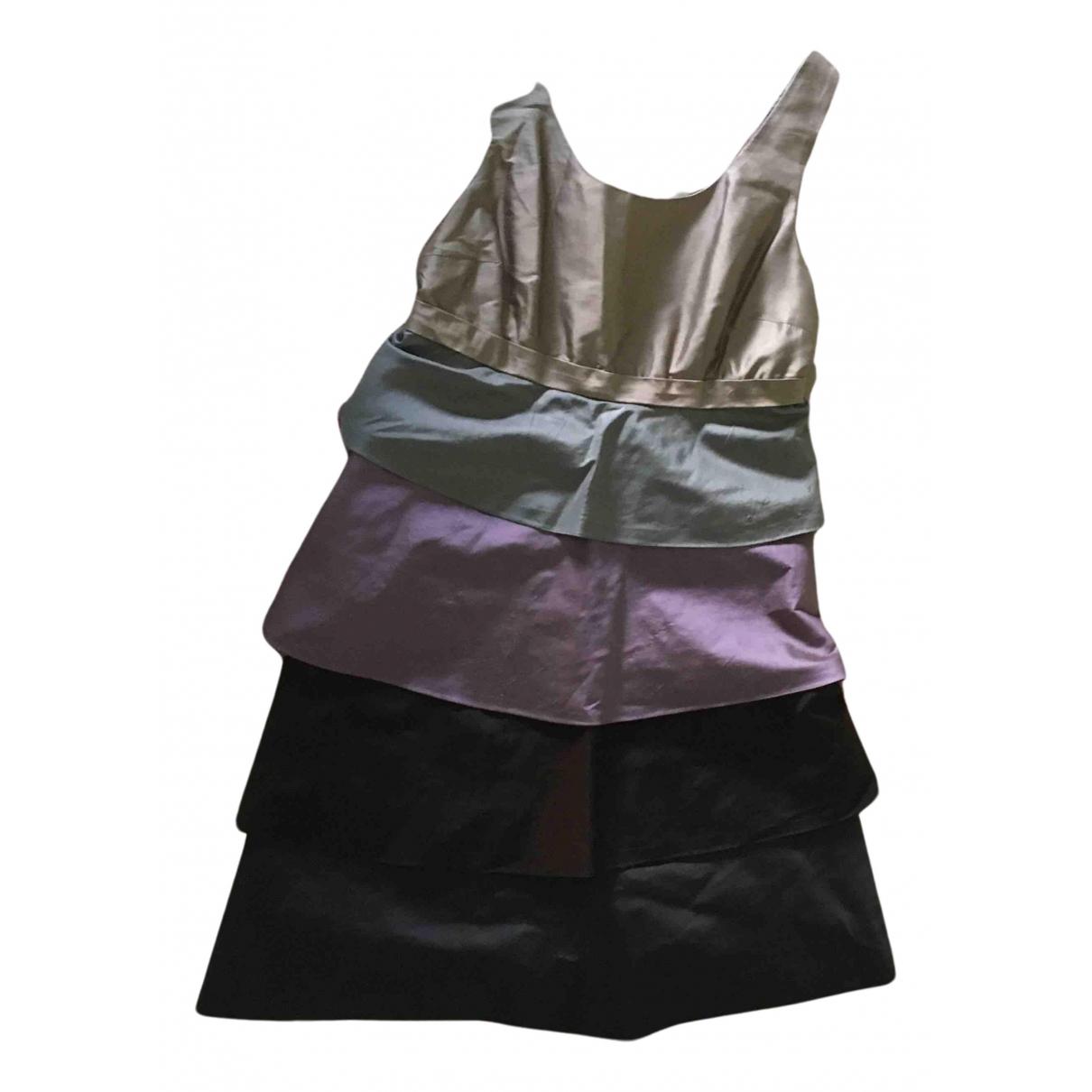 Maliparmi - Robe   pour femme en soie - multicolore