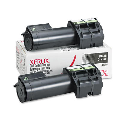 Xerox 5018 5021 5328 6R244 Original Black Toner Cartridge - 2/Pack