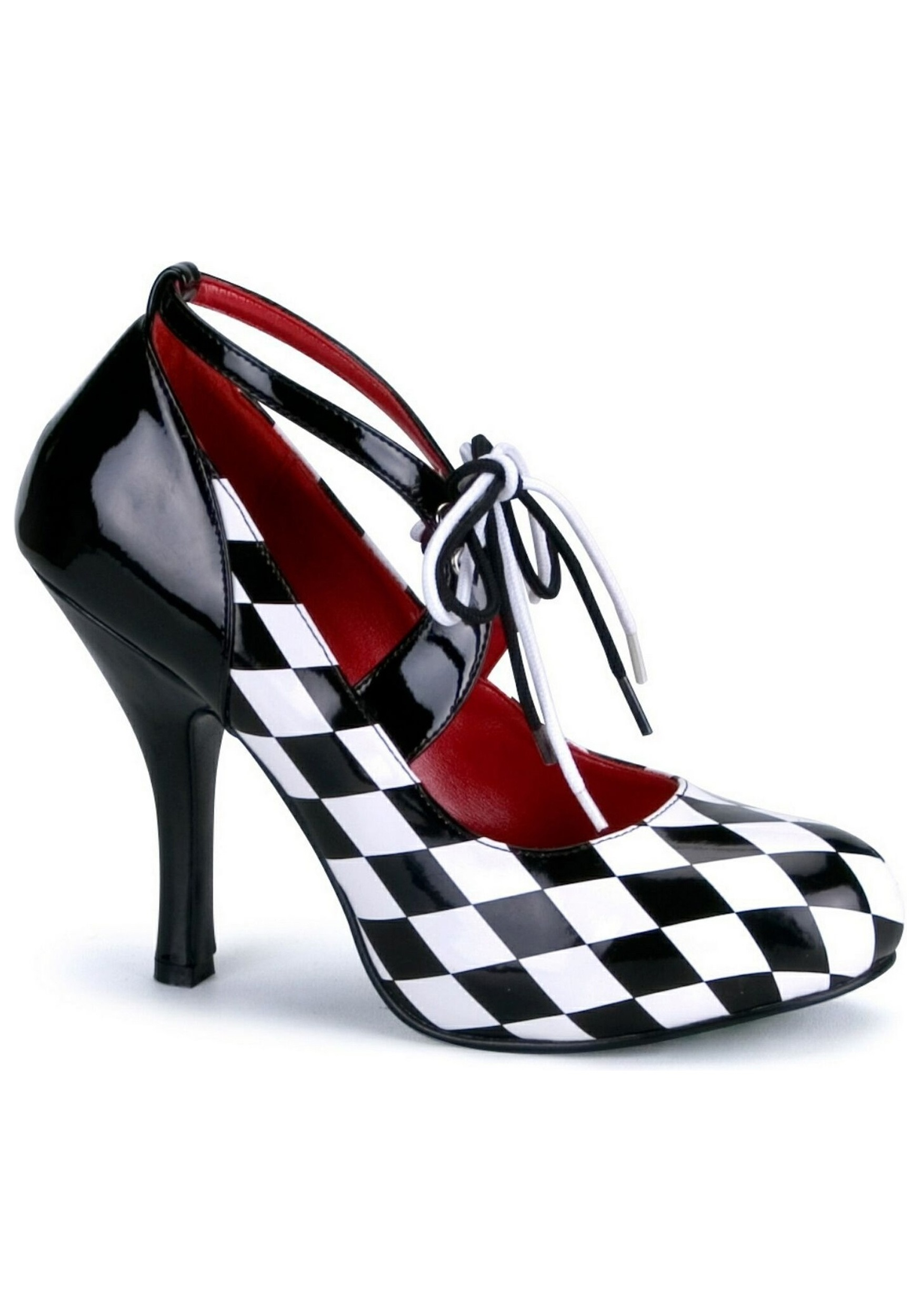 Womens Harlequin Costume Shoes