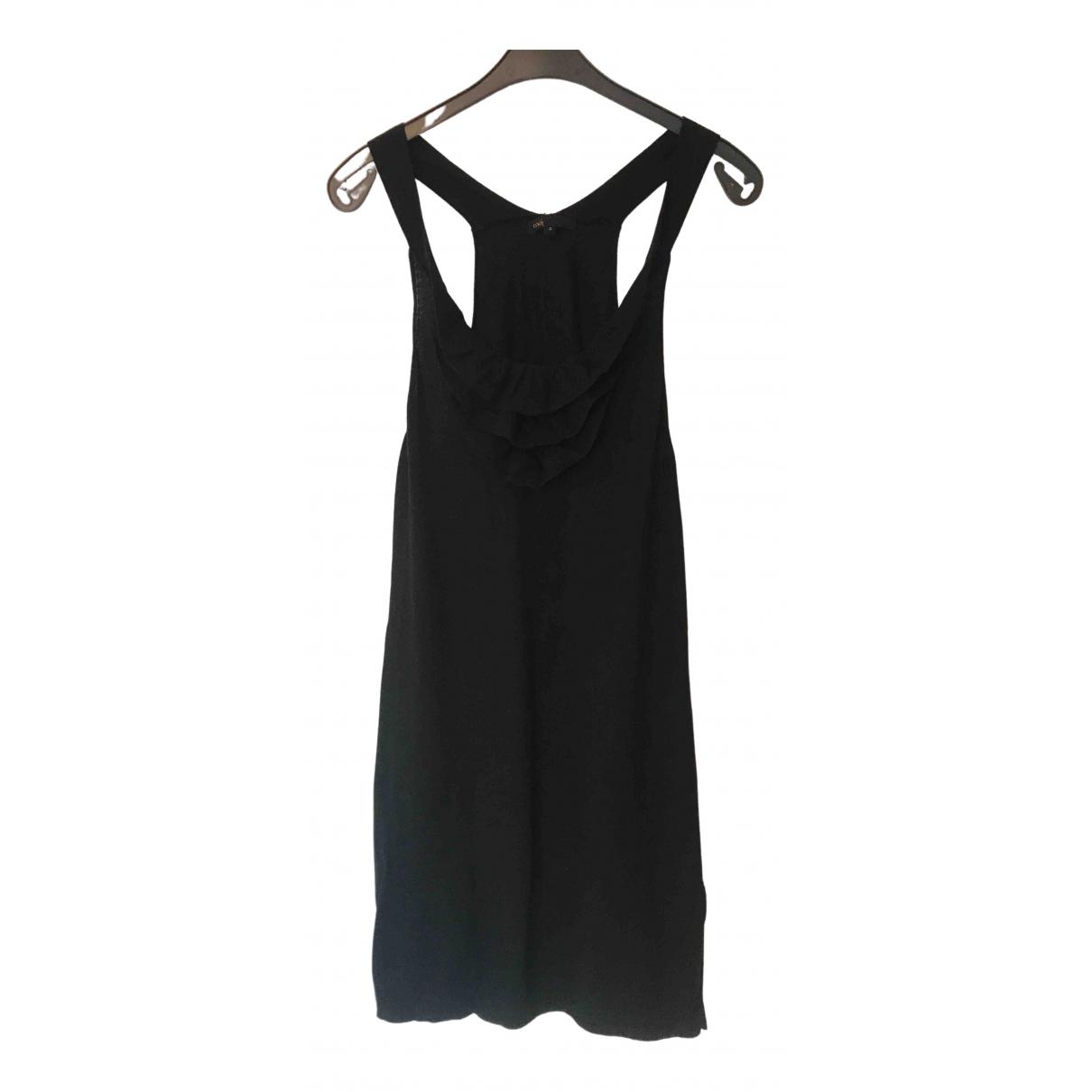 Maje \N Kleid in  Schwarz Kaschmir