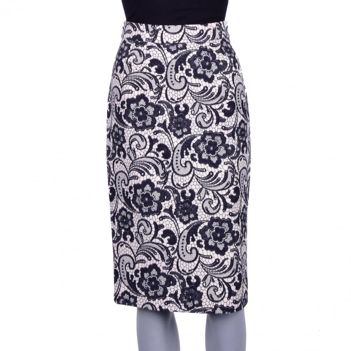 Dolce & Gabbana - Jupe   pour femme en laine - blanc
