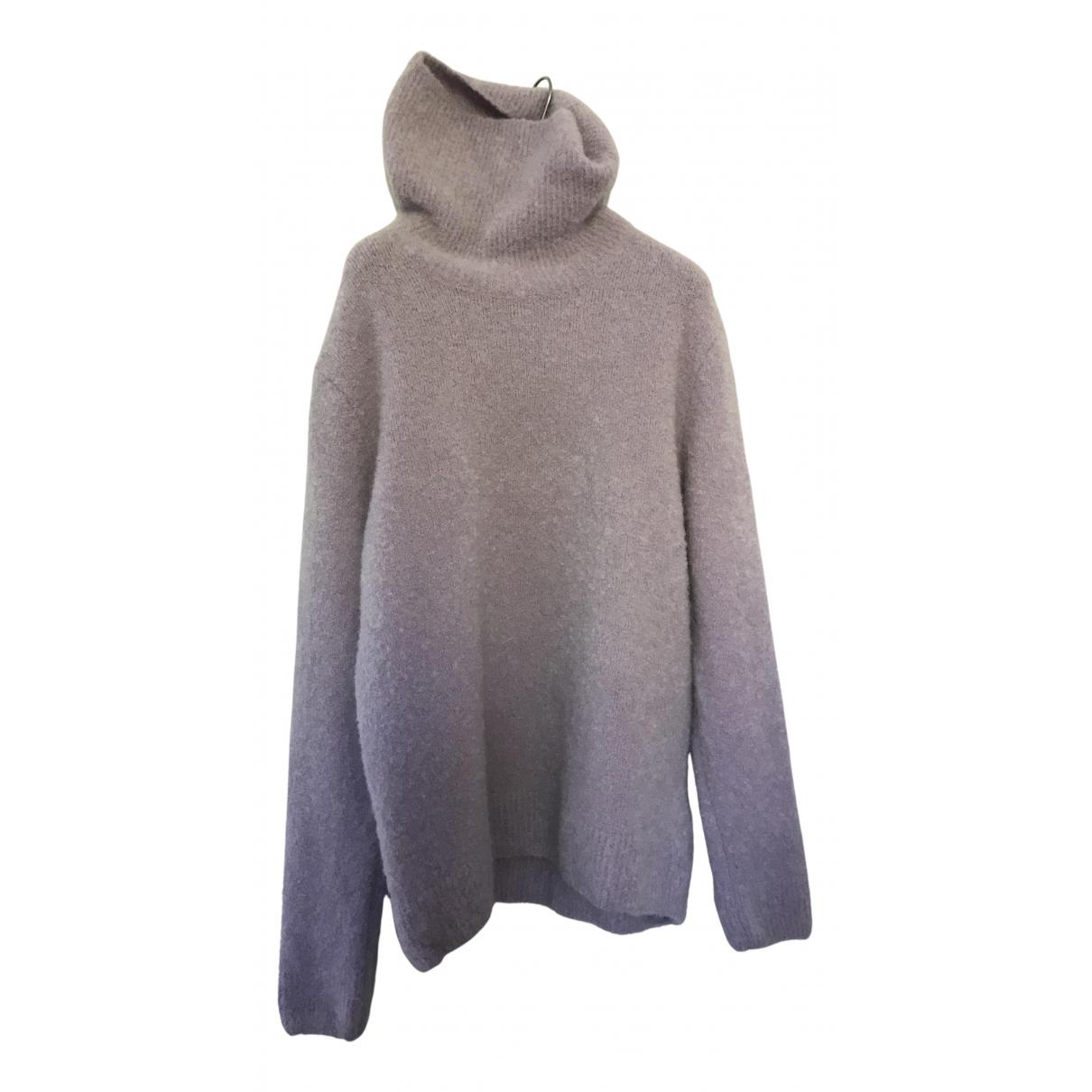 Cos - Pull   pour femme en laine - violet