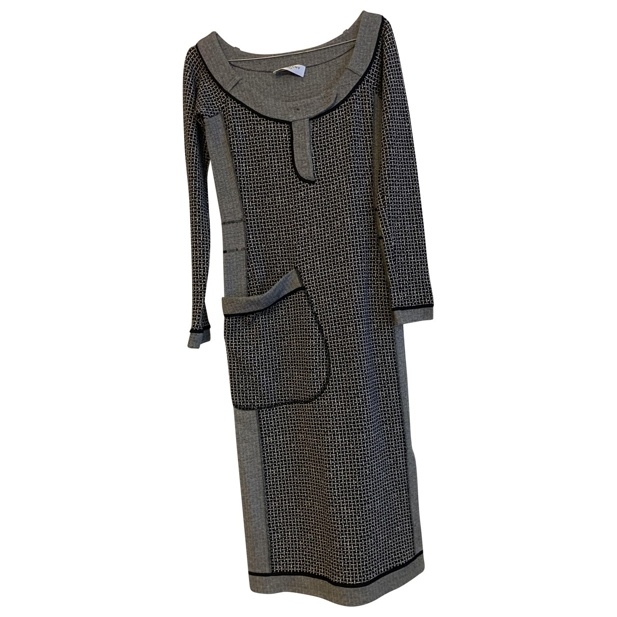 Givenchy - Robe   pour femme en coton - gris