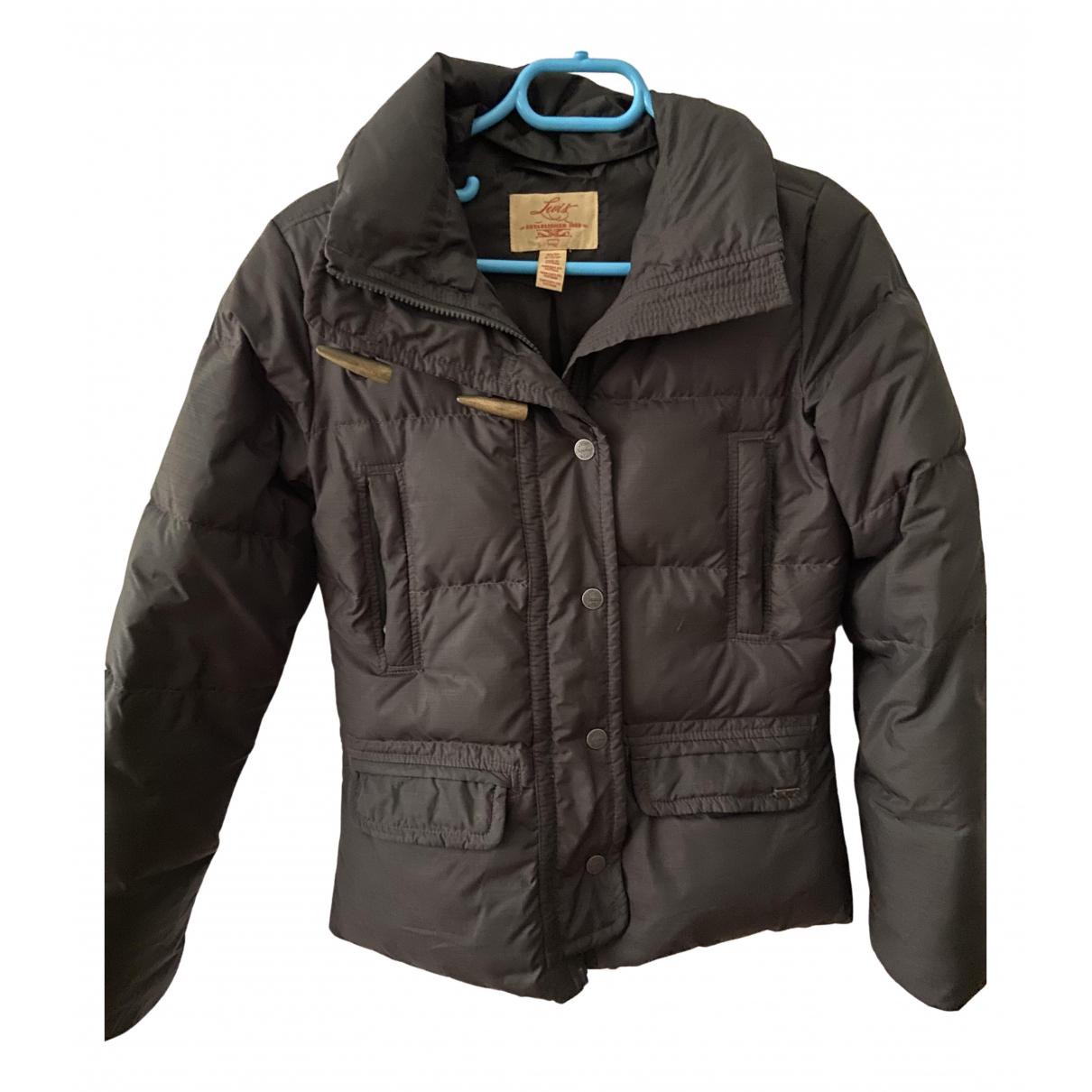 Levi's N Black Leather jacket for Women 34 FR