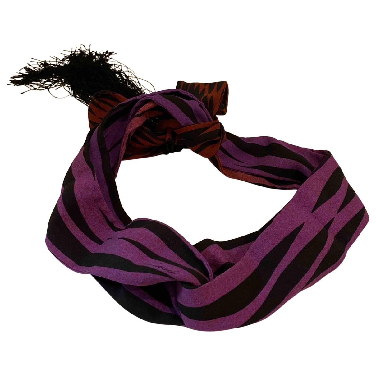 Gucci - Foulard   pour femme en soie - violet