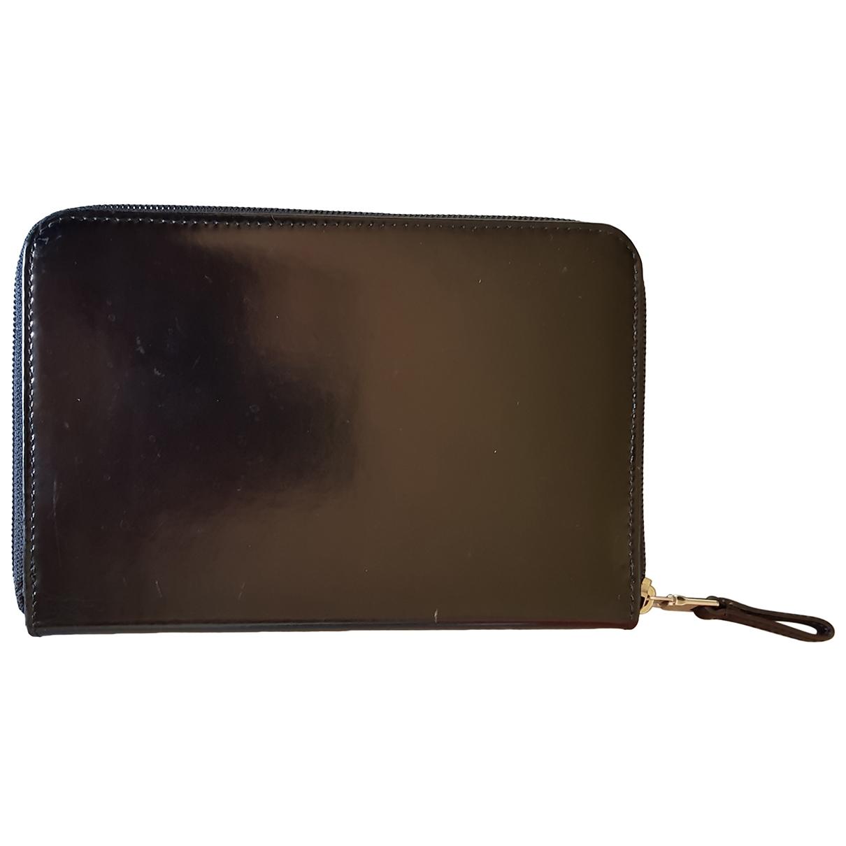 Prada - Petite maroquinerie   pour femme en cuir - noir