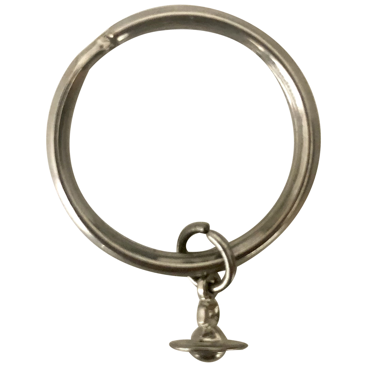 Vivienne Westwood \N Kleinlederwaren in  Silber Metall