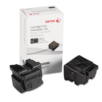 Xerox 108R00929 Original Black Solid Ink For ColorQube 8570 Printer - 2 Sticks/Pack