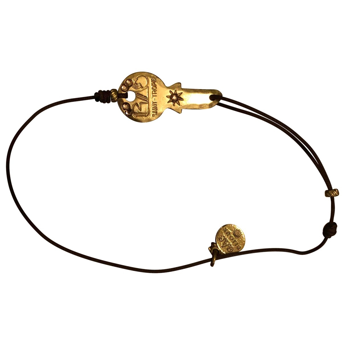 Gas \N Armband in  Gold Metall
