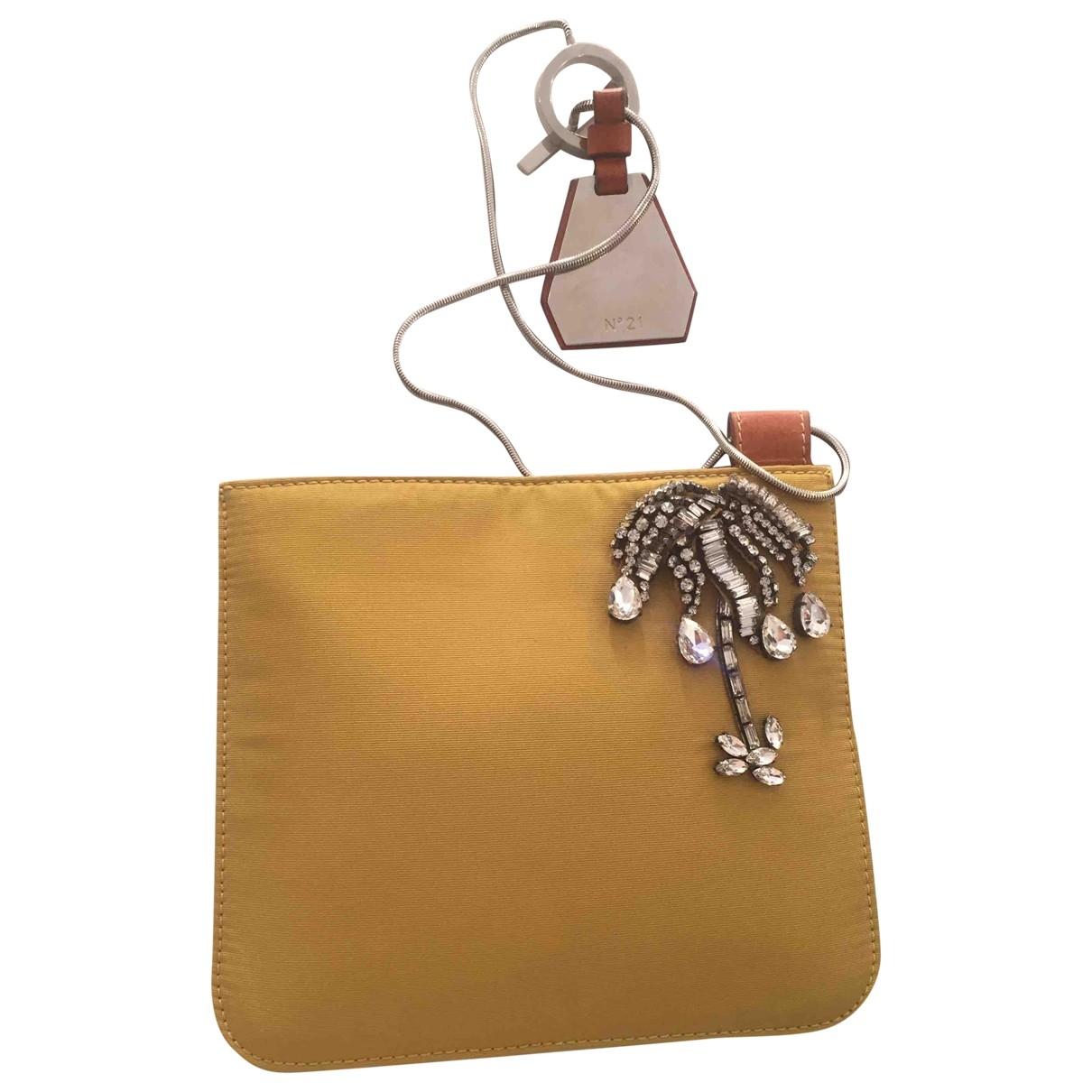 Bolsos clutch en Algodon Amarillo N°21