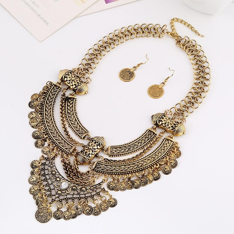 Ericdress Necklace Vintage Wedding Jewelry Sets