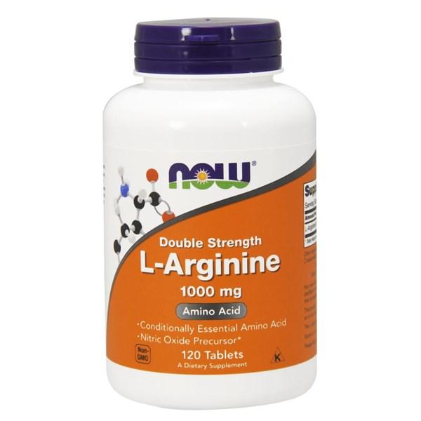 L-Arginine 120 Tabs by Now Foods