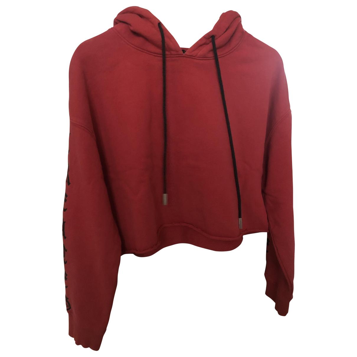 The Kooples - Pull Fall Winter 2019 pour femme en coton - rouge